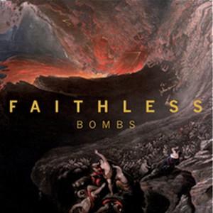 album cover bombs by faithless