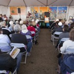 photo of audience at tucson festival of books author panel