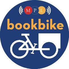 Montclair, NJ Bookbike logo