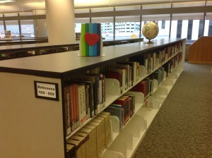 photo of Joel D. Valdez Main Library Reference Collection