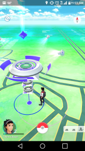 The Pokémon Gym at the Joyner-Green Valley Library