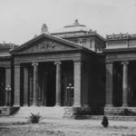Carnegie Library, front view, circa 1905
