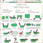 Summer Grab N Go Activity - Paper Dragon Boat image of PDF