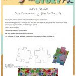 Summer Learning - Grab N Go Activity - Community Puzzle image