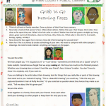 Summer Learning - Grab n Go Activity - Drawing Faces - image